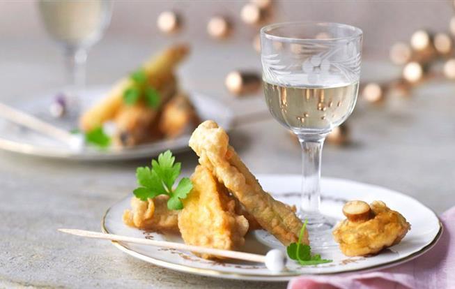Zeleninová tempura