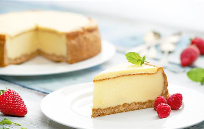 Cheesecake s citrónovým krémom