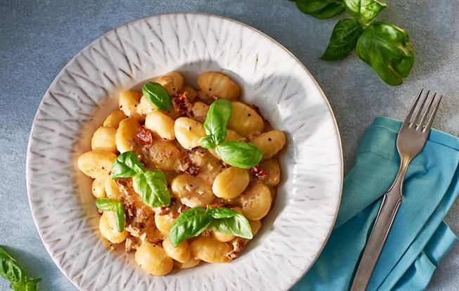 Gnocchi so sušenými paradajkami a mascarpone