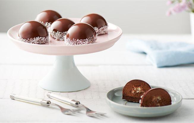 Kokosovo-čokoládový dezert