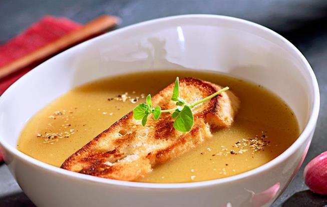 Cesnaková polievka