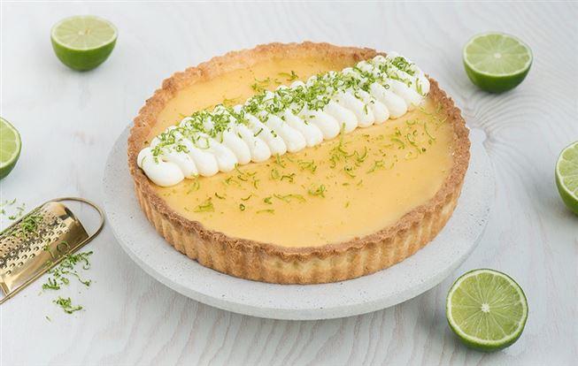 Limetkový tart