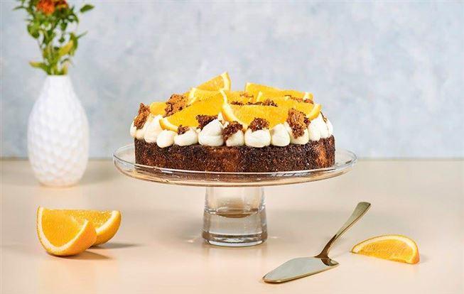 Mandľová torta s mascarpone