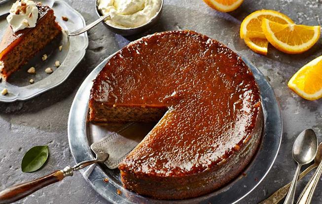 Španielska pomarančová torta