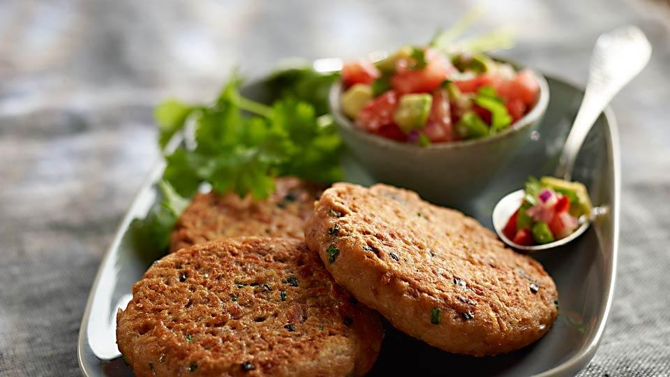 Tuniakové karbonátky so salsou