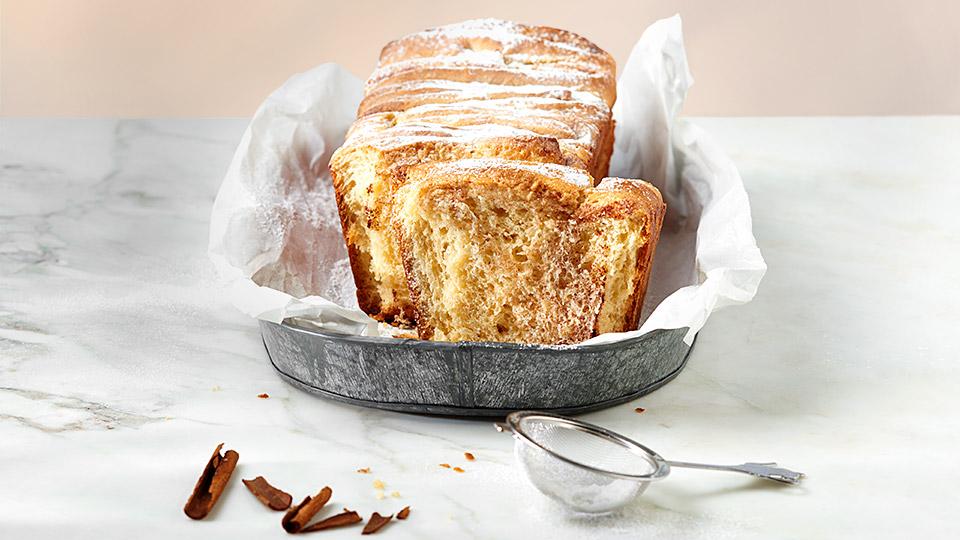 Škoricový trhací chlebík