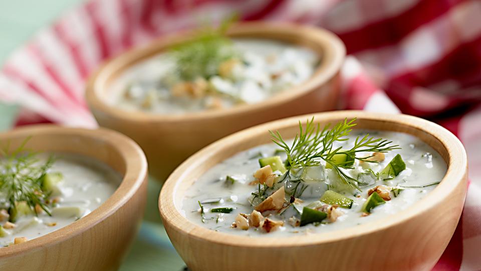 Tarator - bulharská studená polievka