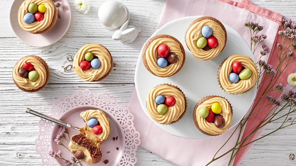 Veľkonočné orechové muffiny