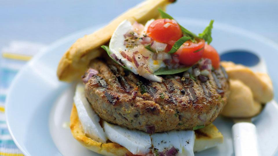 Hovädzí hamburger
