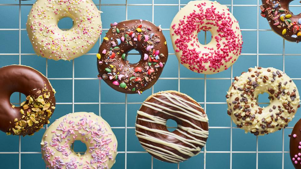 Donuty z brioškového cesta