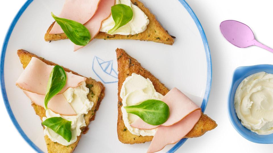 Francúzsky toast naslano