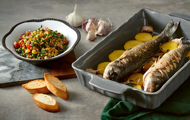 Zapekaná ryba so zemiakmi
