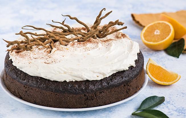 Kakaovo-batatová torta