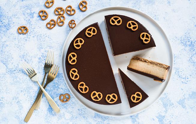 Cheesecake s arašidovým maslom