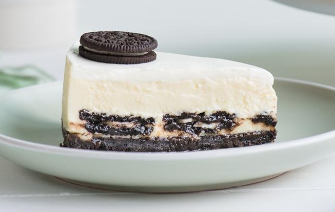 Krémový cheesecake so sušienkami