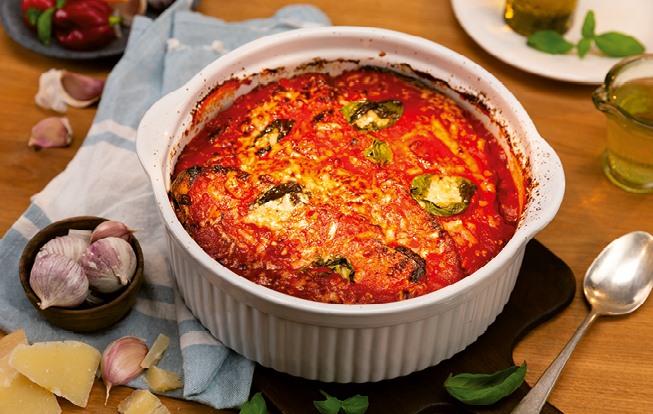Baklažánová parmigiana