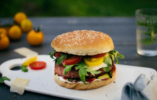 Vegetariánsky burger