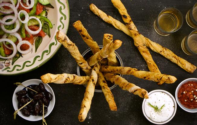 Grissini – chlebové tyčinky