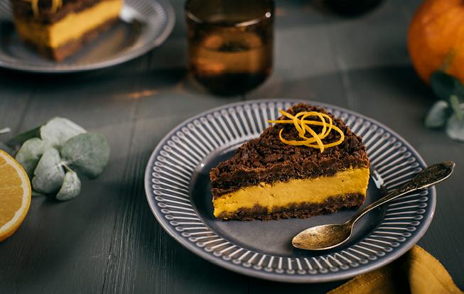 Strúhaný tekvicový koláč