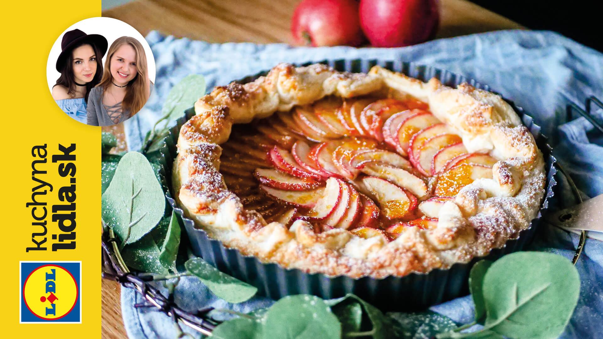 Rýchly jablkový koláč