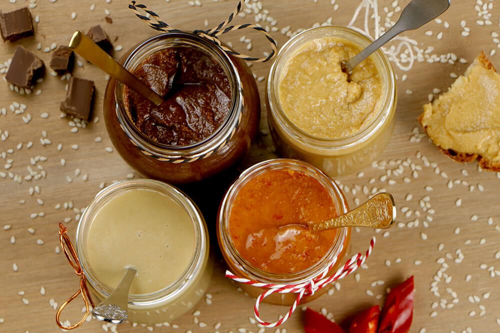Tahini - domáca sezamová pasta